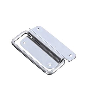 various styles European style wardrobe Case pull handle stainless Spring loaded handles