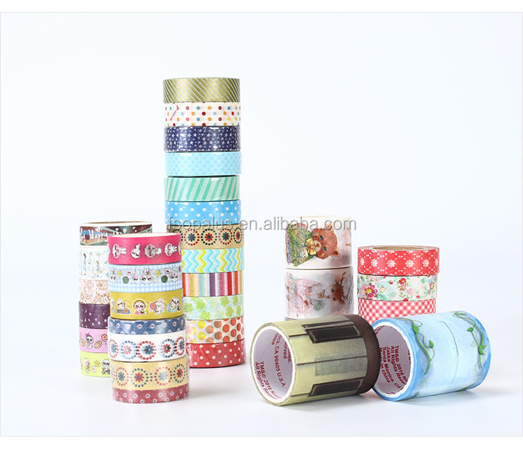 Cat Deco Decorative Adhesive Green Holographic Korean Kraft Rainbow Roll Sticker Stamp Wash Christmas Anime Washi Tape