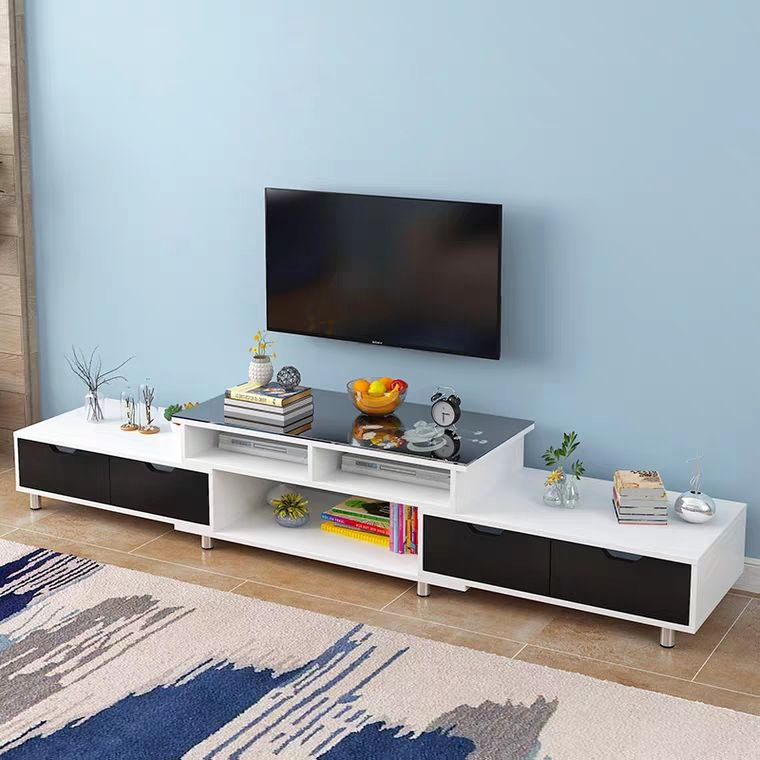 Logo Customization Modern Furniture Tv Modern TMJ-2034 Modern Wholesale Coffee Table Combination Small Apartment Living Room Furniture Set Tv Display Stand