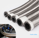Sae Rubber Hose An Hose AN10 SAE J1532 Stainless Steel Cover Braided Rubber Oil Cooler Hose