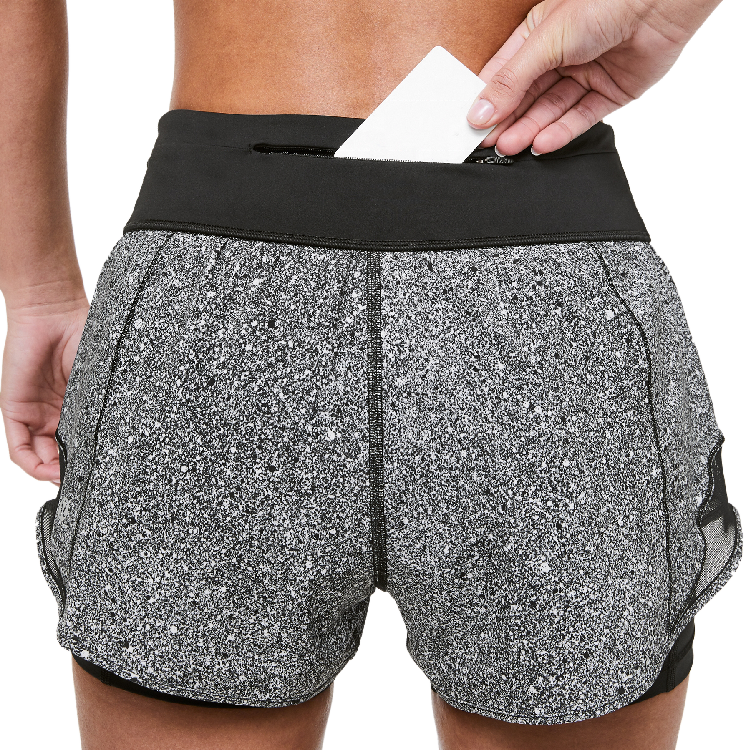Athletic Apparel Manufacturers Wholesale Workout Fitness Gym shorts 2 In 1 Running Short With Pocket