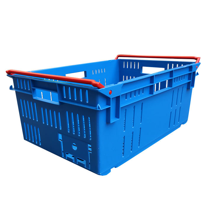 Plastic Fruit Vegetable Storage Crate For Sale