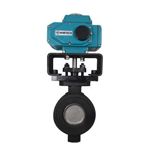 OEM professional customization motorized Air actuated drive pneumatic butterfly valve