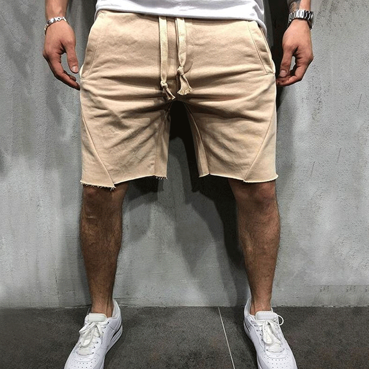 Neue Stil Sommer 100% Baumwolle Custom Print Mens Plain Kompression Läuft Shorts