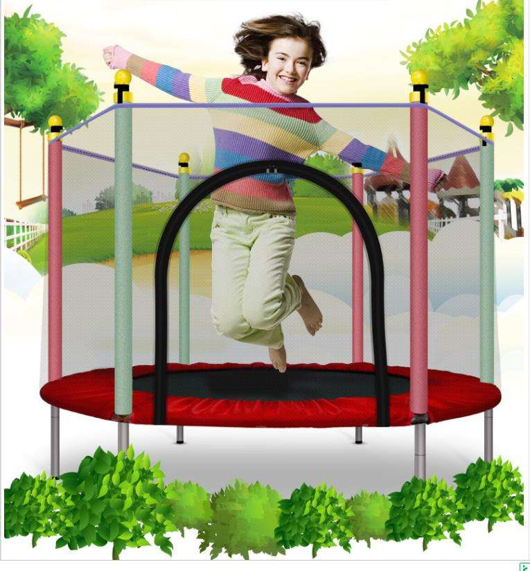Low price children's indoor trampoline / indoor children's trampoline trampoline / cheap trampoline