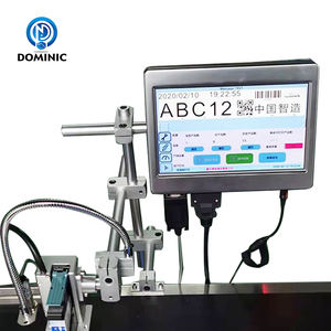 High resolution online industrial ink jet printer date number logo bar code printing machinery