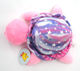 Kindergarden free sample bright eyes pink star soft plush stuff turtle toys