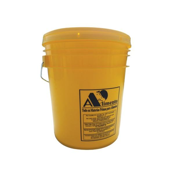 wholesale 1l,5l,10l white food grade plastic bucket with lid