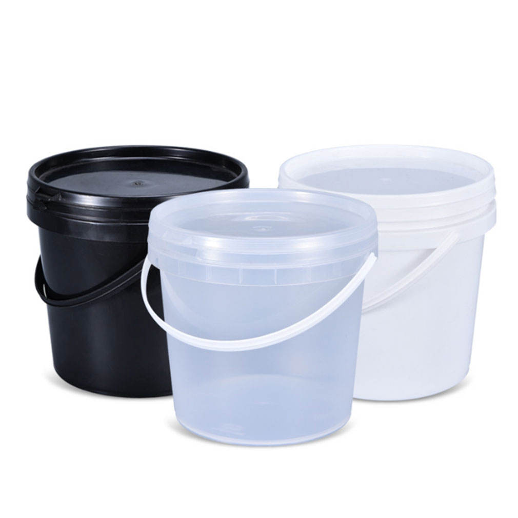 food grade plastic buckets with lids