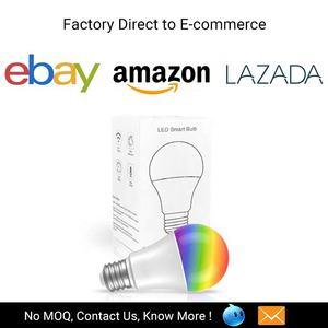 8W 800LM bombilla LED inteligente Bluetooth de música de Control bombilla de luz RGB que cambia de Color Altavoz Bluetooth bombilla de luz