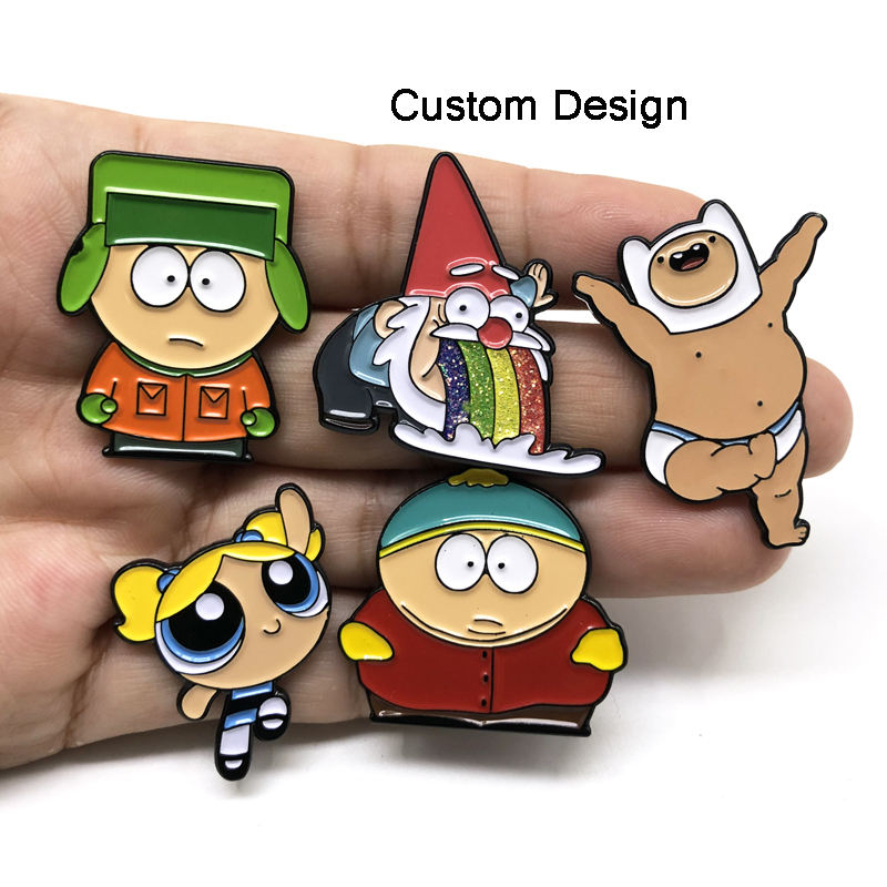 Metal Crafts Wholesale Hat Pins Gold Plated Soft Hard Custom Enamel Pin