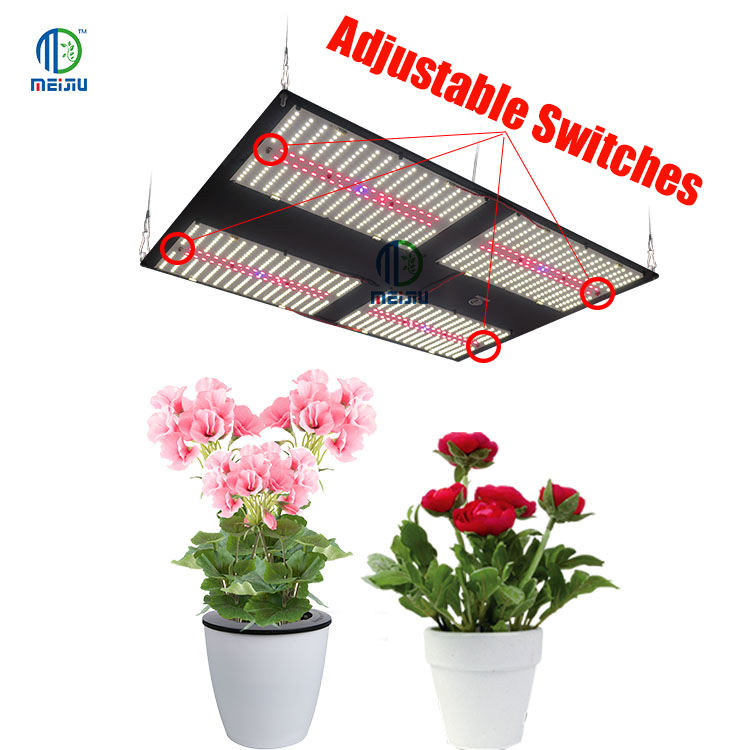 Meijiu Most Popular 730NM Far Red Led Grow Lights, Meijiu Led Modules Samsung lm301B 480W Diy Led Grow Light