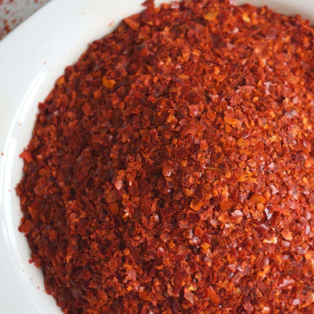 Such hot red chili flake chili crushed for korean kimchi