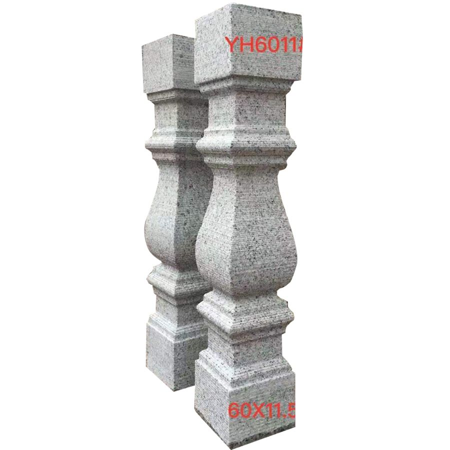 granite stone baluster blacony railing