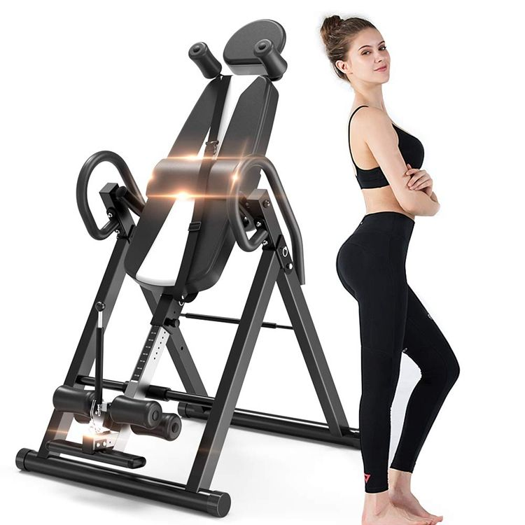 2019 high quality professional electric handstand machine inversion therapy tables for reduce back pain