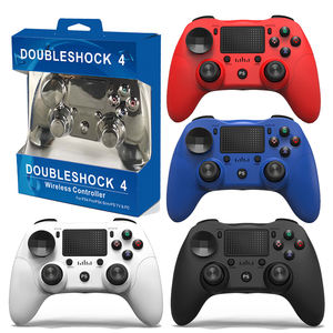Nirkabel Game Controller untuk PS4/Dualshock 4/PC/Android Gamepad dengan 6-Axis/Audio Port/Dual Vibration Joystick