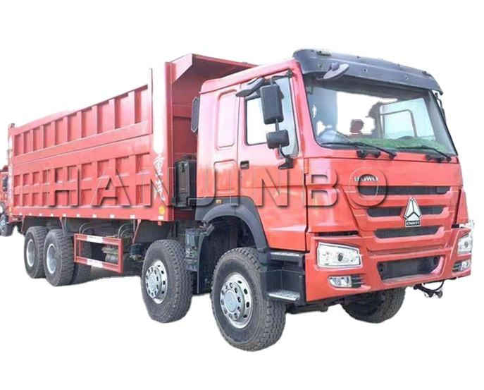 Used howo Dump Trucks Tipper Truck 8x4 40T dumper van cheaper price dumptruck for sale