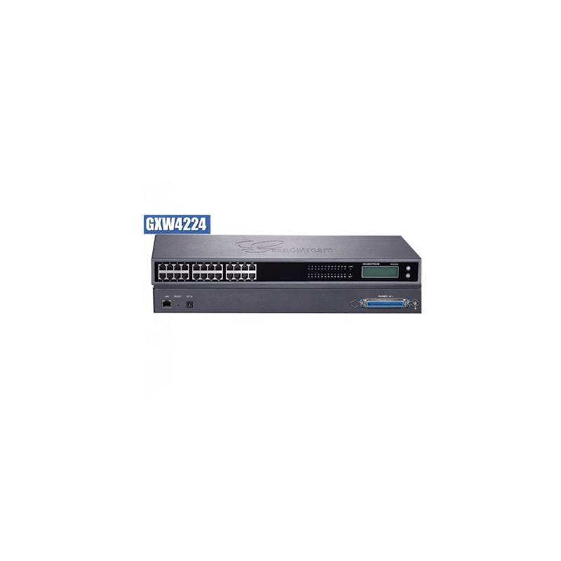 Grandstream Enterprise 24FXS Port <span class=keywords><strong>Voip</strong></span> Gateway Mendukung <span class=keywords><strong>IP</strong></span> PBX Sistem GXW4224