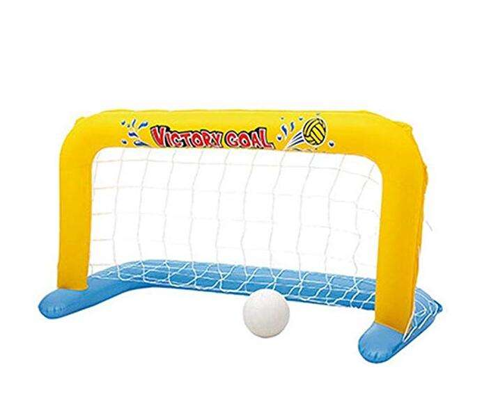 Outdoor Sport inflatable soccer game floating football goal