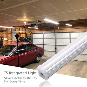 High Power Seamless Connection 4Ft 5Ft 15W 20W Price T5 Integrated Led Daylight Led Tube Light For Shop Office Garage