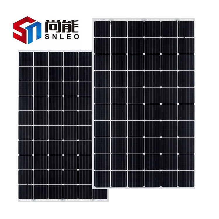 China's best-selling 60 cells of high-efficiency single crystal, double-sided and double-glass components 305W solar roof panels