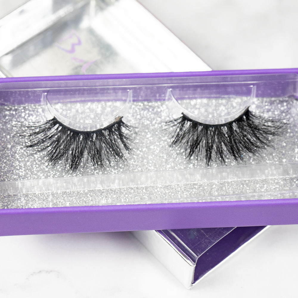 6D-01 new makeup products oem 3D natural mink eyelashes vendors and lash case