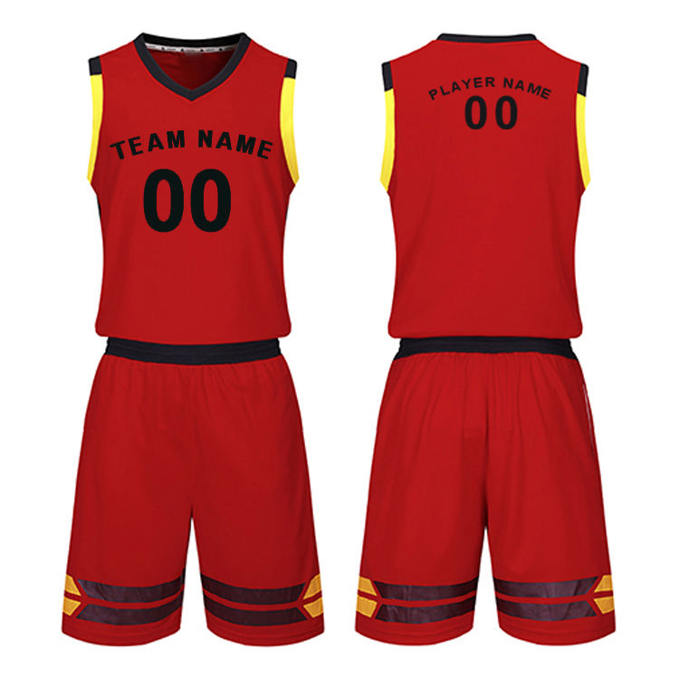 Basketball Jerseys College Breathable Blank Men Basketball Uniforms Throwback men blank team basketball jerseys uniforms