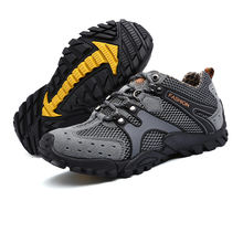 Wholesale Breathable High Quality Men Casual Outdoor hiking shoes working shoes for men