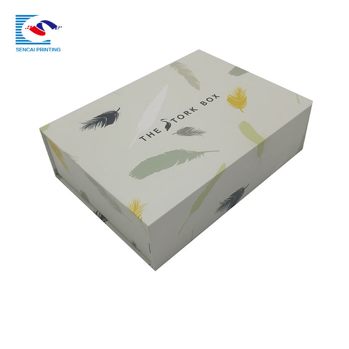 Packaging Customization Custom Cardboard Green Color Package Cloth Papae Box