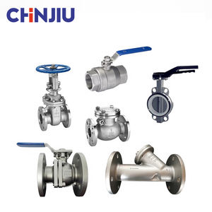 CHINJIU ISO9001 Flanged Valve/ Ball / Gate / Check / Globe/ Foot / Butterfly Valve