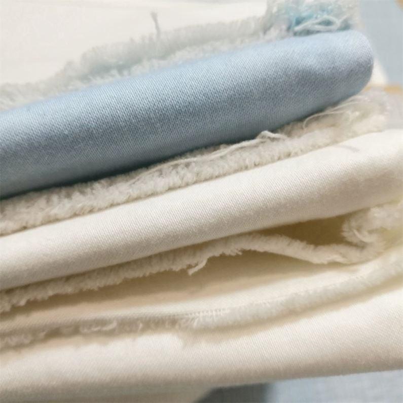 Прямая поставка от китайского производителя, Горячая продажа хлопкового материала на основе спандекса, выполнено в цветовой гамме ткань
