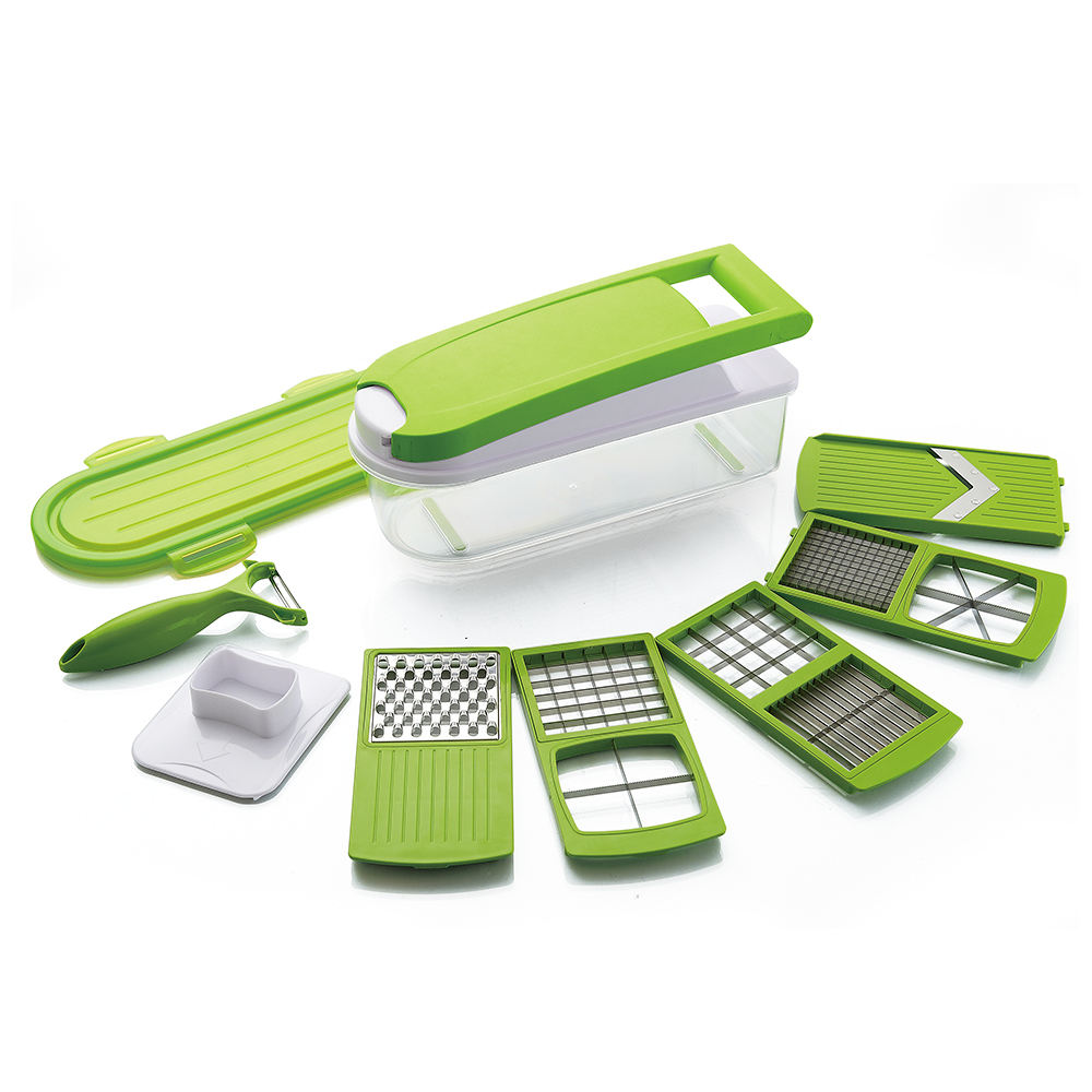 Commercio all'ingrosso multi insalata manuale affettatrice di verdure dicer set