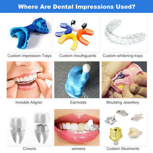 DIY Teeth Impression Kit Take Your Moulds To Dentist For Custom Made Mouth Tray