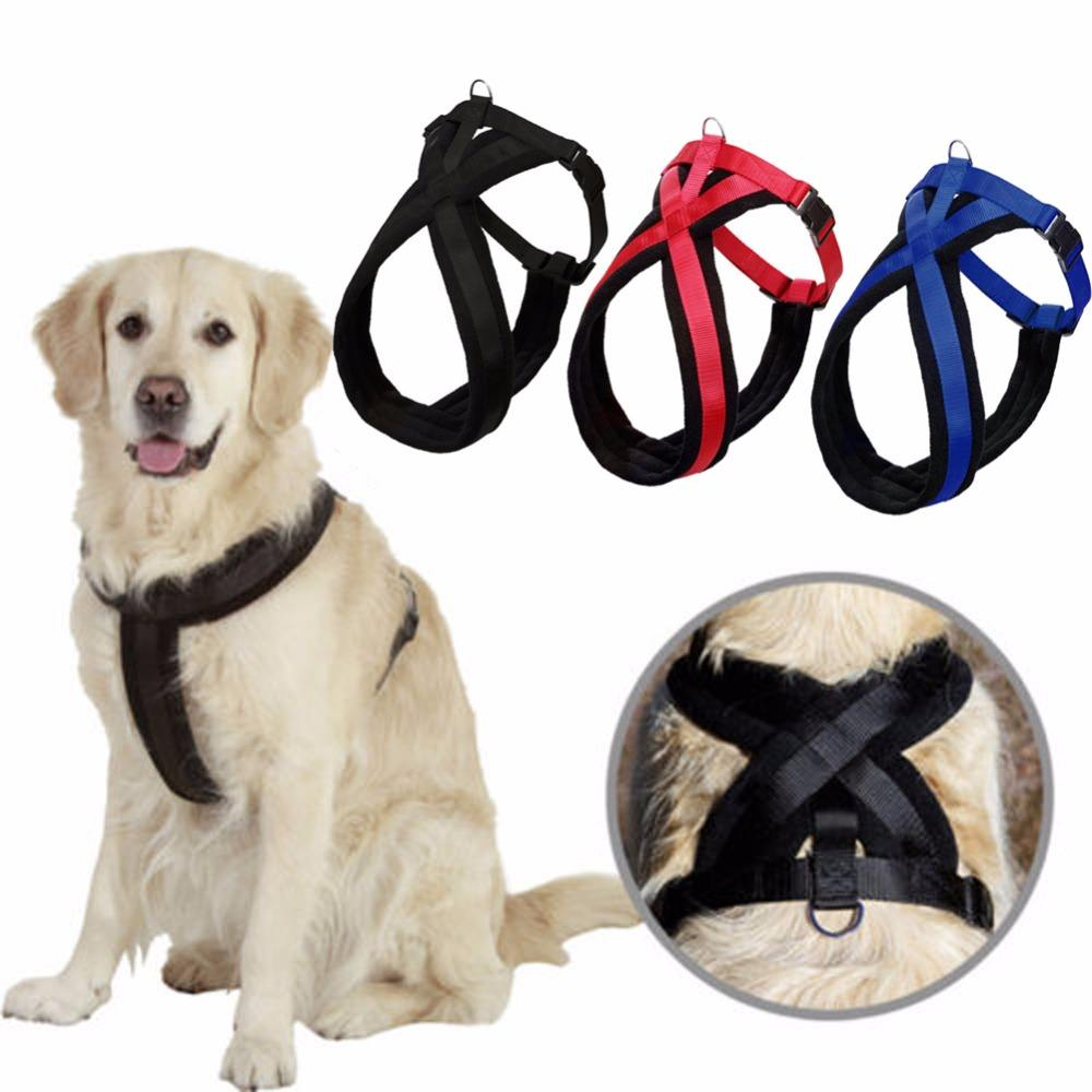 High Quality Easy Control Adjustable Neoprene Dog Harness for Big Dog , No Pull Pet nylon Vest custom Oxford Dog Harness