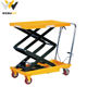 Lift table hydraulic mobile container load ramp with support legs for hot sale lifting platform foot pump