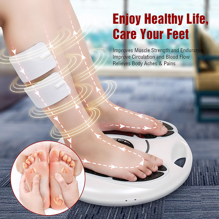 2019 EMS & TENS Electric Foot Massager-FDA Approved Foot Circulation Machine leg massager