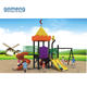 Kids Plastic Game Outdoor Playground With Swing Slide Set