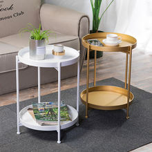Coffee Table Black Home Living Room Furniture Tray Metal Nordic Sets Mirrored Round Luxury Gold Marble Modern Side Coffee Table
