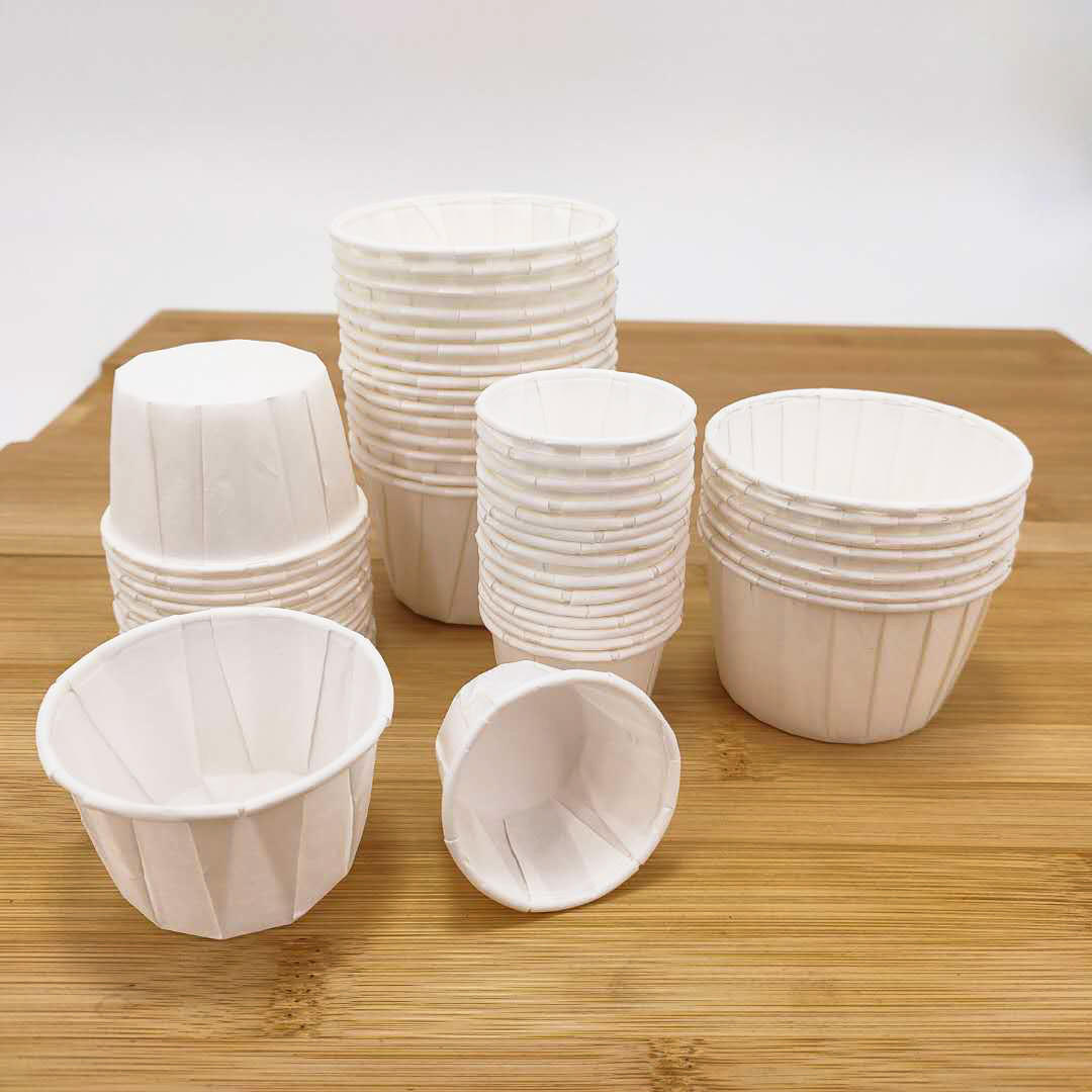 manufactured in China souffle portion cup small disposable sauce cup paper with high quality