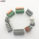 2.5/3.5/5.0/5.08 PCB spring screwless terminal block