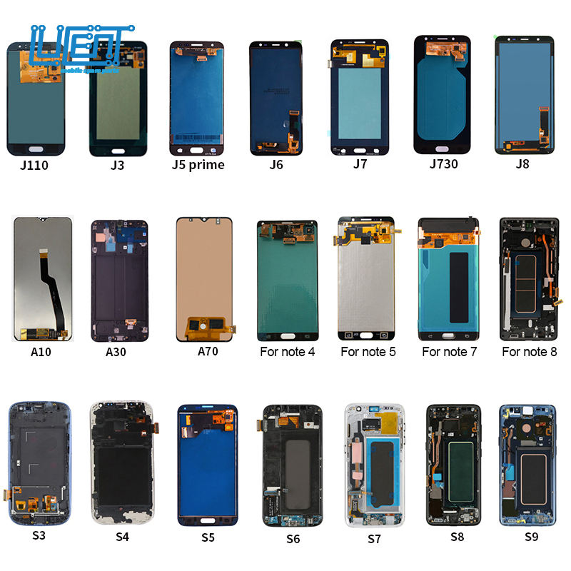 lcd display manufacturers for samsung pantallas de celulares cell phone screens Factory Price Cell Phone LCD Screen For Samsung