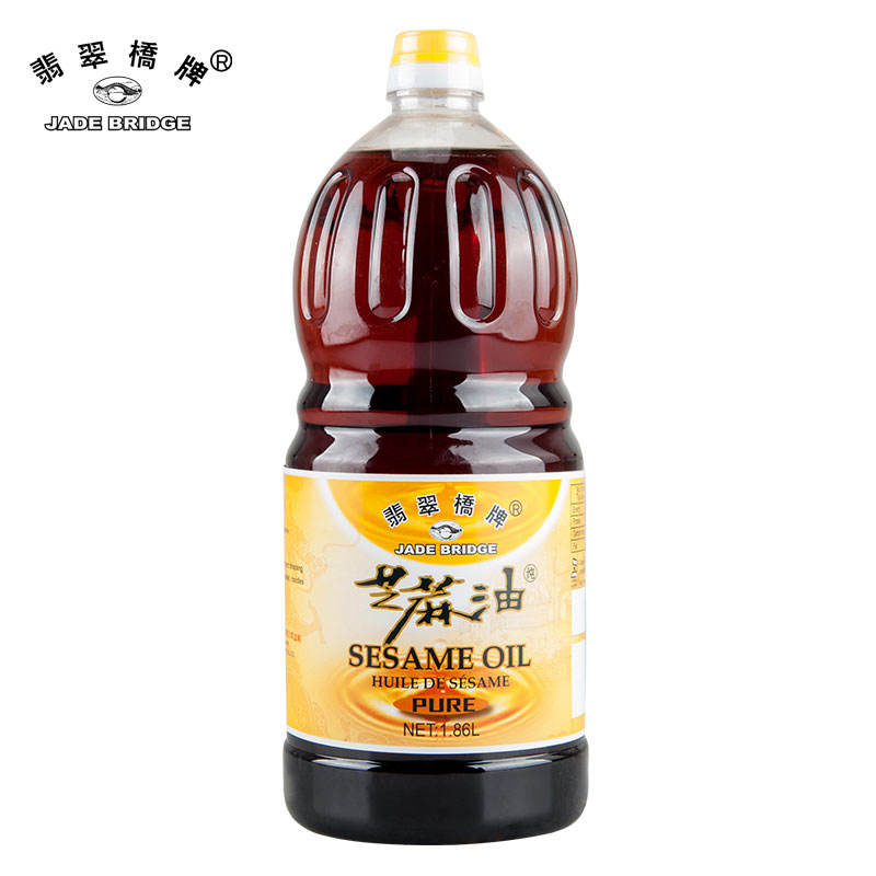 625 Ml Jade Bridge Pure Sesame Oil Wholesale Cooking OEM With Factory Price