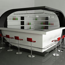 TW Fashion and Modern nightclub/hotel/bar/restaurant led counter