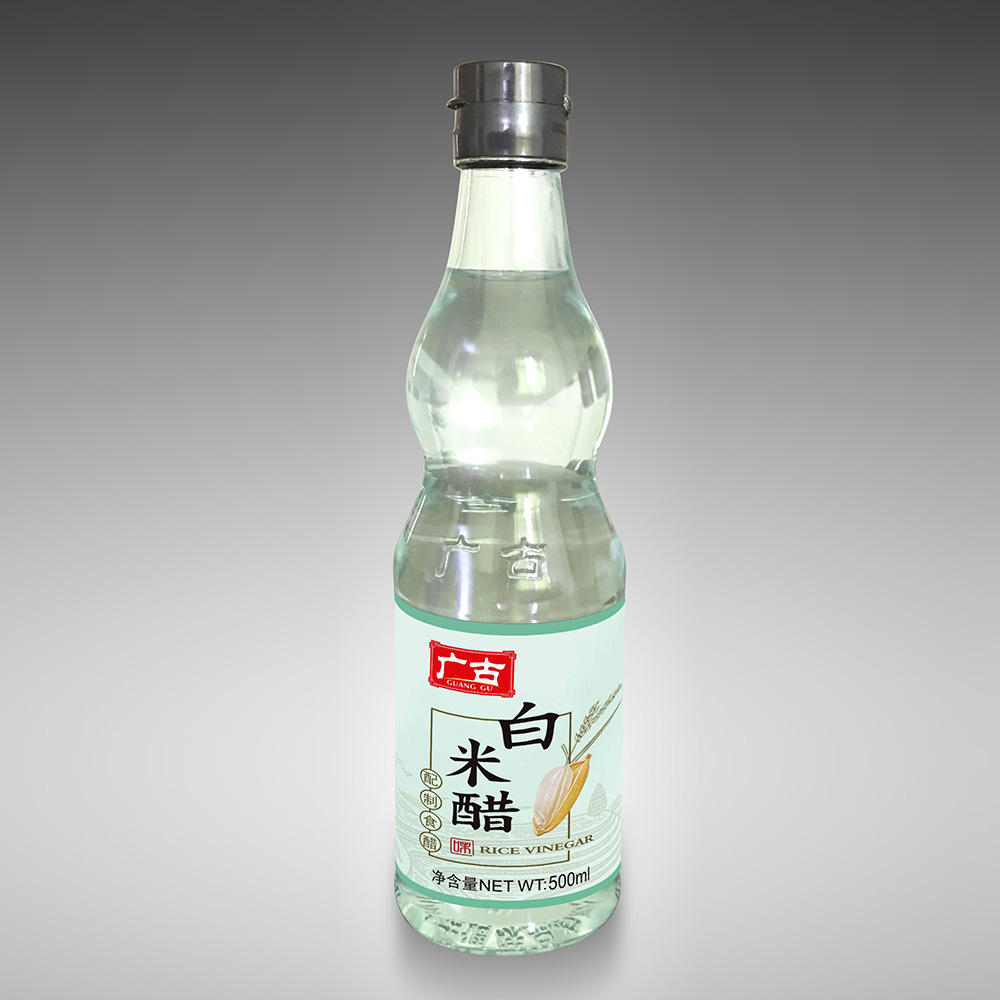 Guanggu Pure Brewing White Rice Vinegar for Making Fruit Apple Vinegar or Cold Dishes