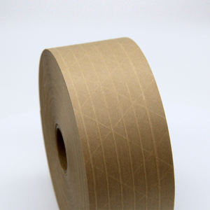 JLN-8780 Eco Friendly Biodegradable reinforced kraft paper Tape for packing