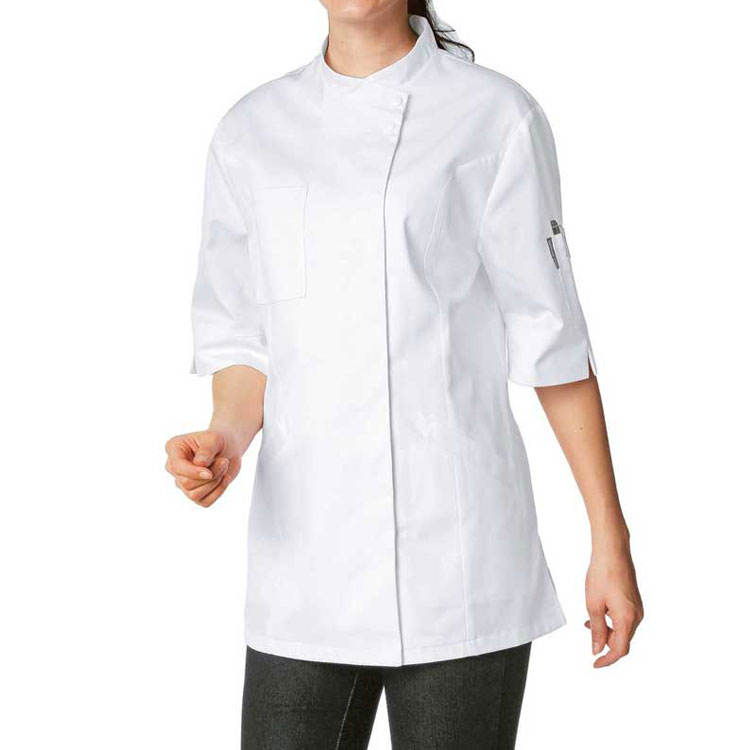 Custom kok chef jacket <span class=keywords><strong>uniform</strong></span> hotel ober serveerster kleren chef