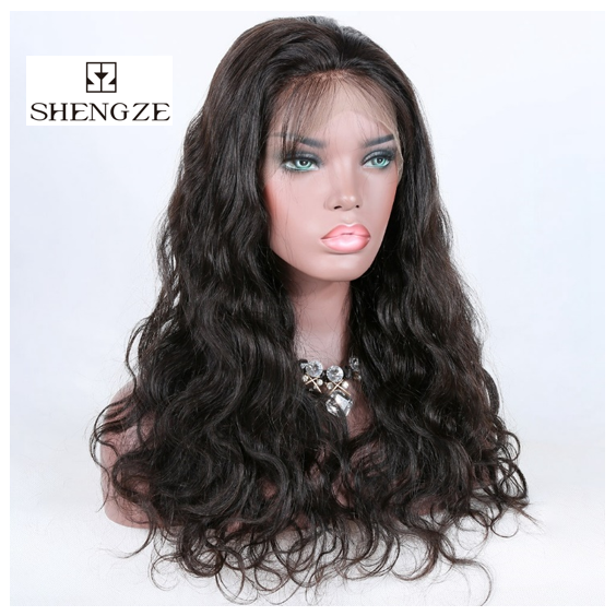 Medium Brown Lace Toupee Wigs Body Wave Wigs 100% Human Hair Full Lace Wig Human Hair Toupee