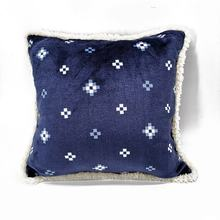 100% polyester flannel fleece custom printed decorative covers bed pillows throw pillow