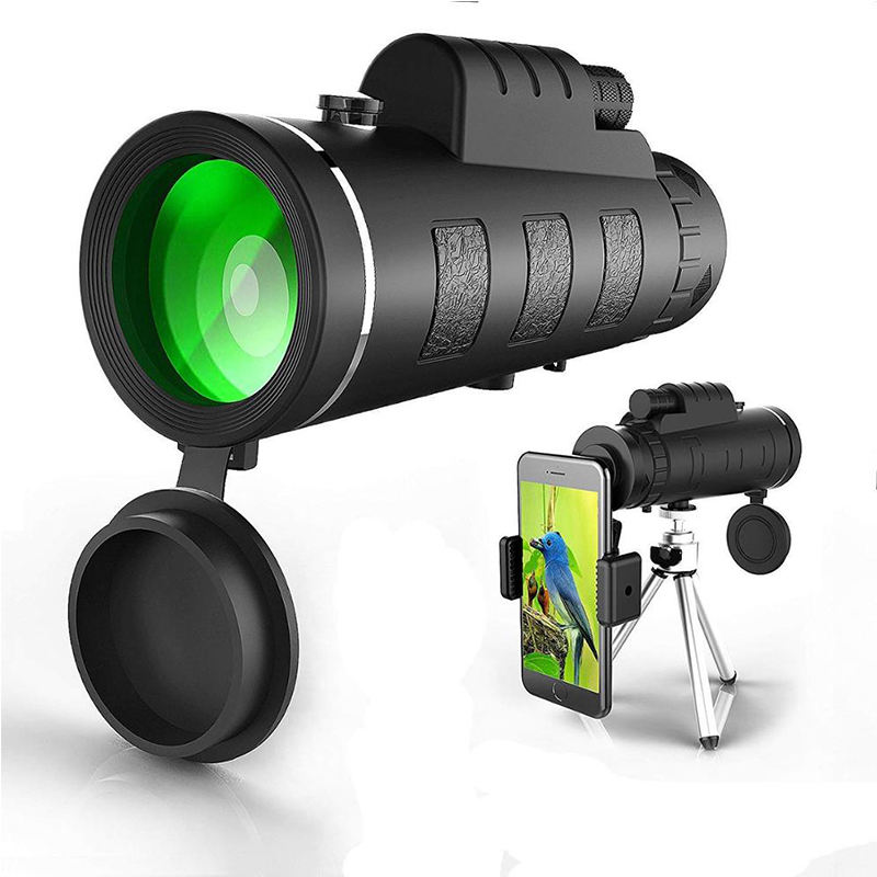 40x60 Monocular with tripod and universal phone clip