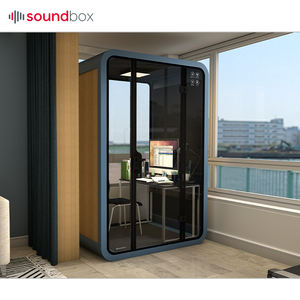 Soundproof acoustic movable silence office reception meeting pod